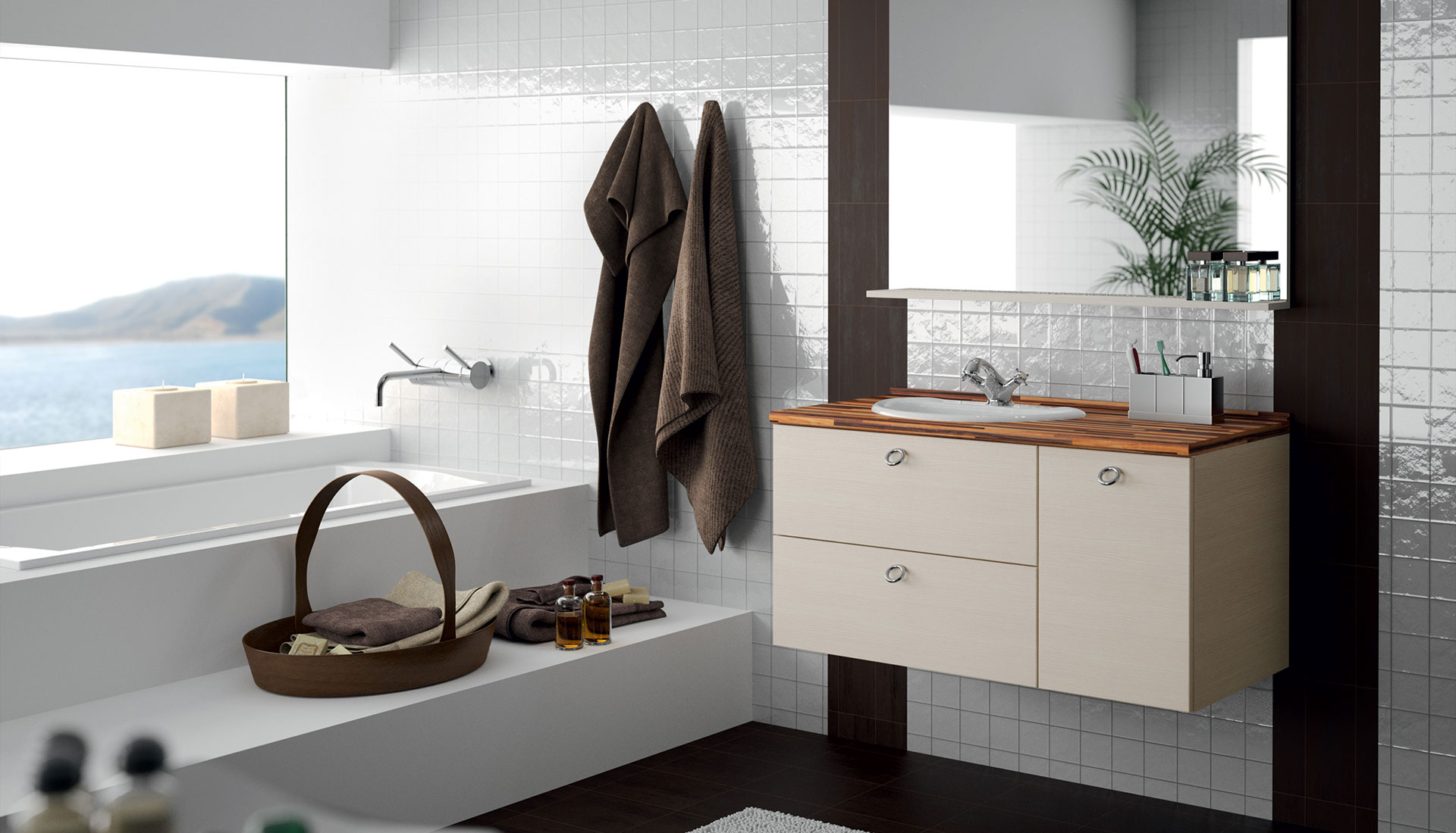 french cabinetry bathroom ion