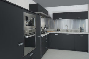 french cabinetry black laminate fenix 2