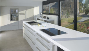 french cabinetry gray lacquered oak b