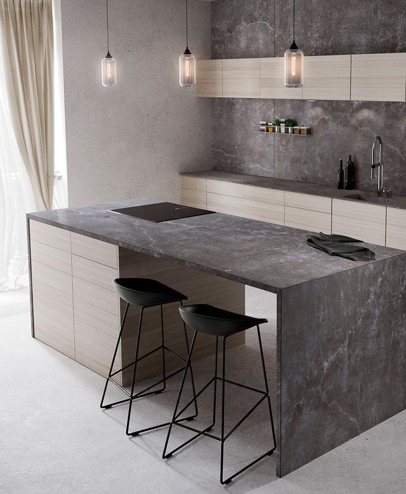 french cabinetry countertops silestone cosentino 6