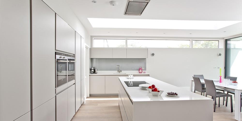 Handle Less Kitchen